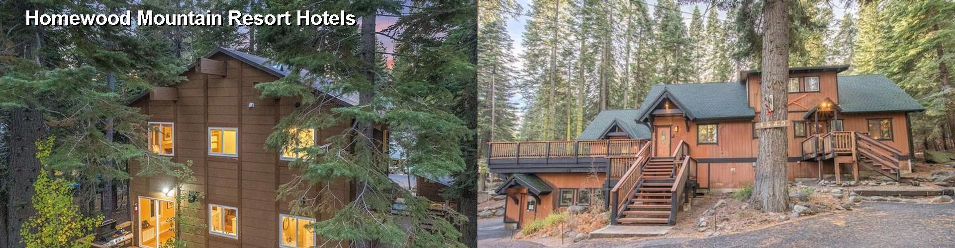 5 Best Hotels Near Homewood Mountain Resort