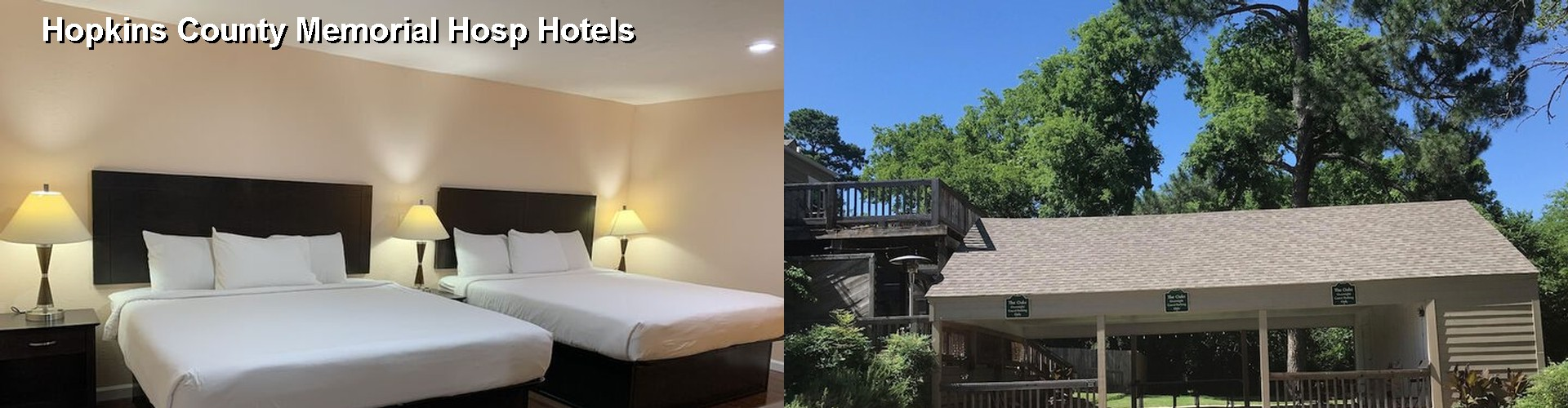 5 Best Hotels near Hopkins County Memorial Hosp