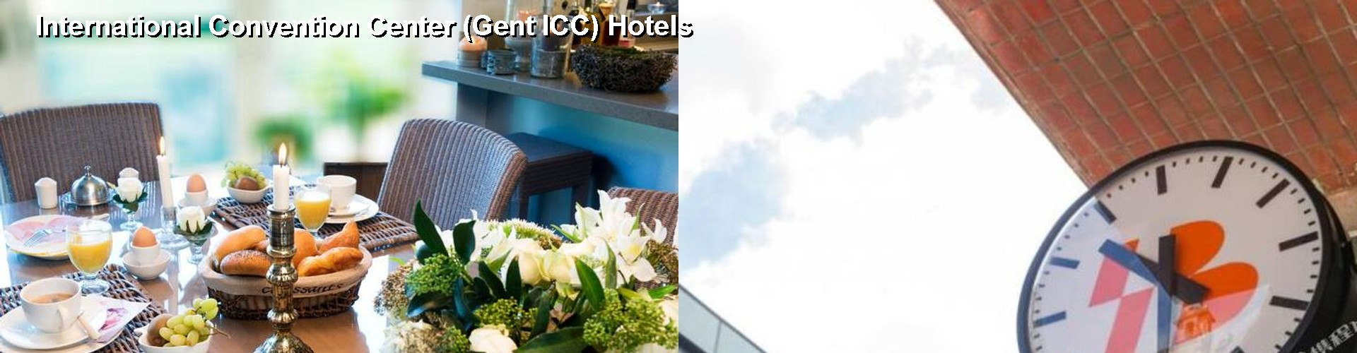 5 Best Hotels near International Convention Center (Gent ICC)