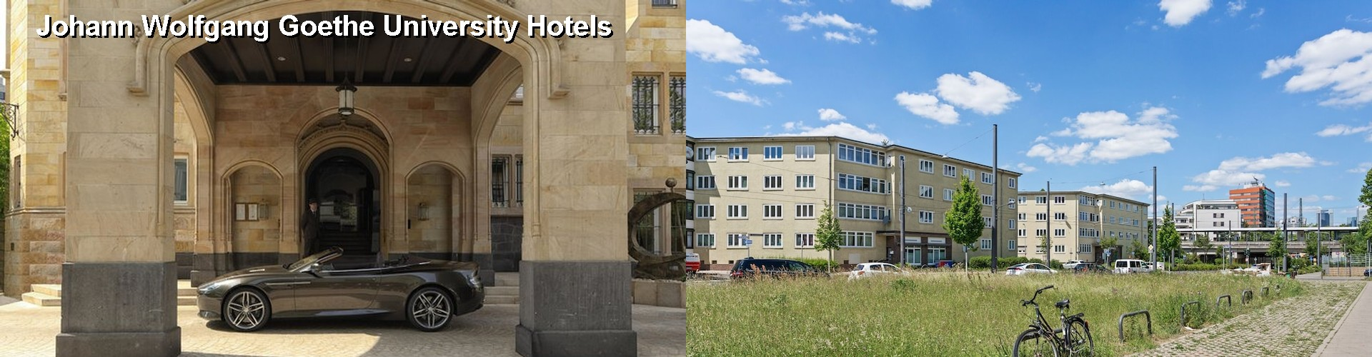 5 Best Hotels near Johann Wolfgang Goethe University