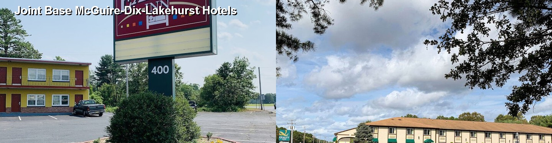 Hotels Near Joint Base McGuire Dix Lakehurst (NJ)