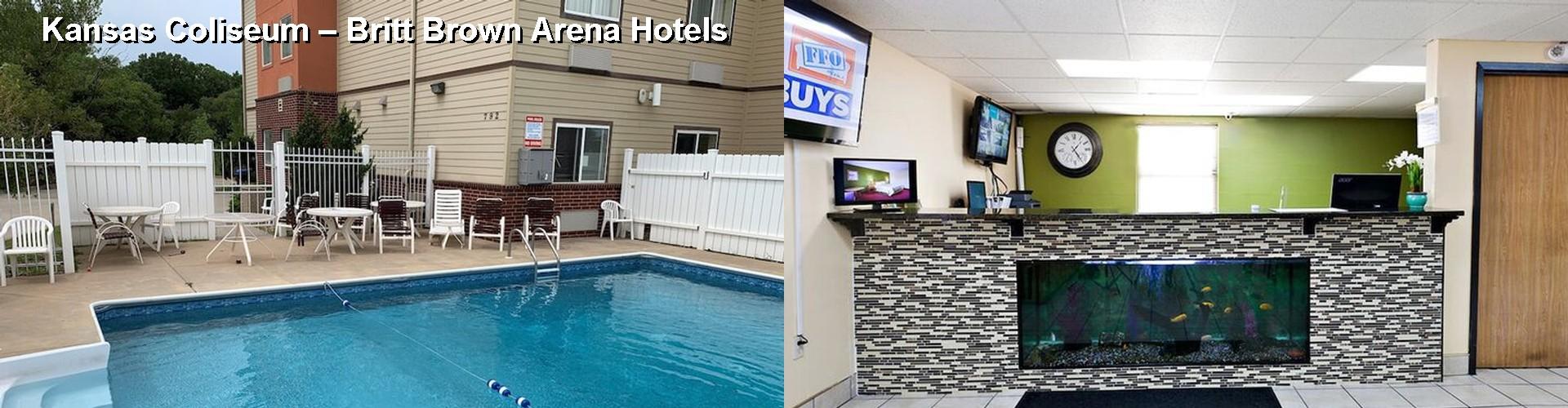5 Best Hotels Near Kansas Coliseum Britt Brown Arena