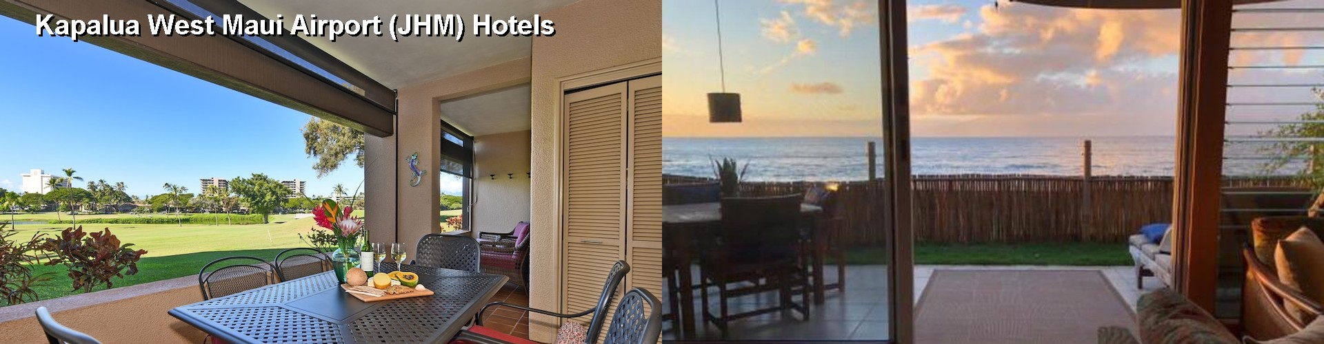 5 Best Hotels Near Kapalua West Maui Airport Jhm
