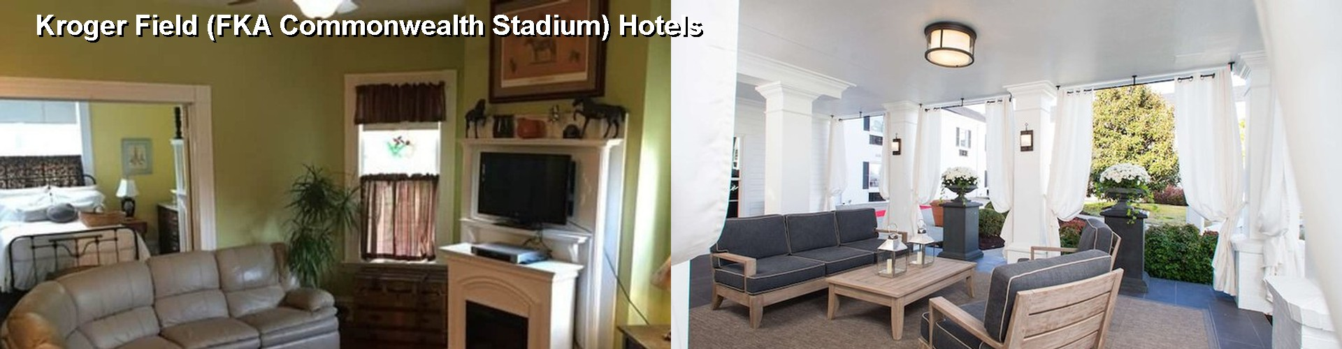 5 Best Hotels near Kroger Field (FKA Commonwealth Stadium)