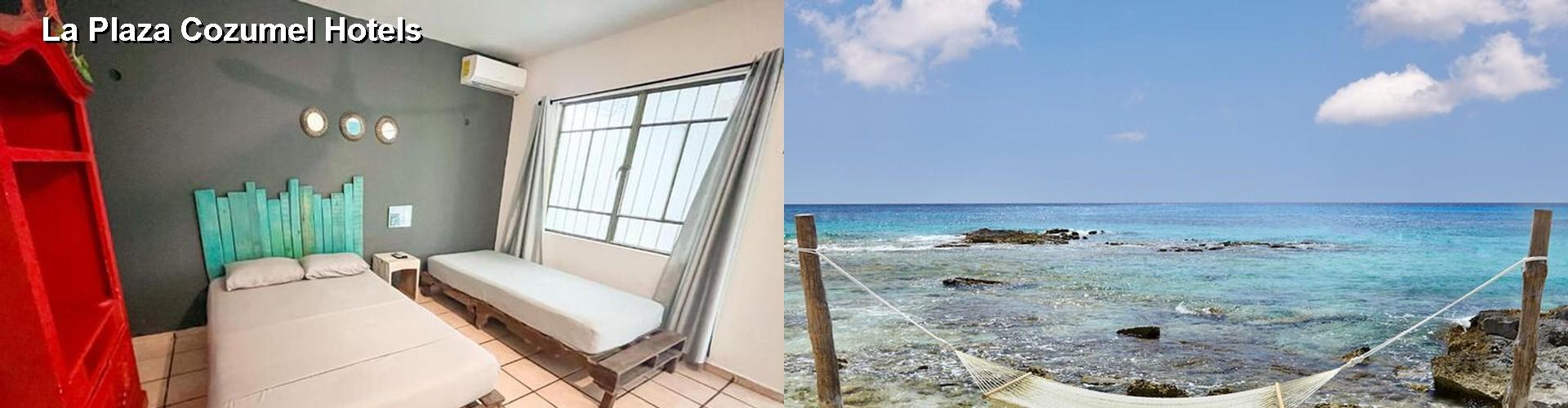 5 Best Hotels Near La Plaza Cozumel