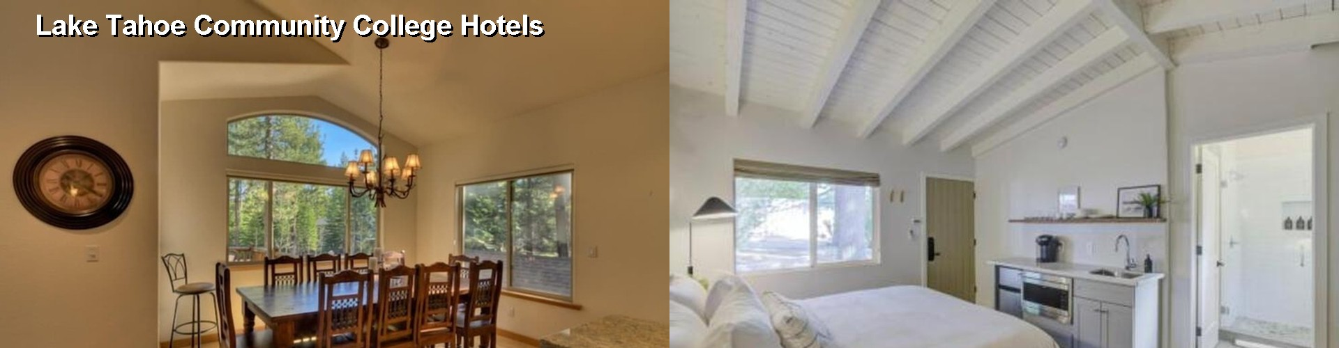 5 Best Hotels near Lake Tahoe Community College