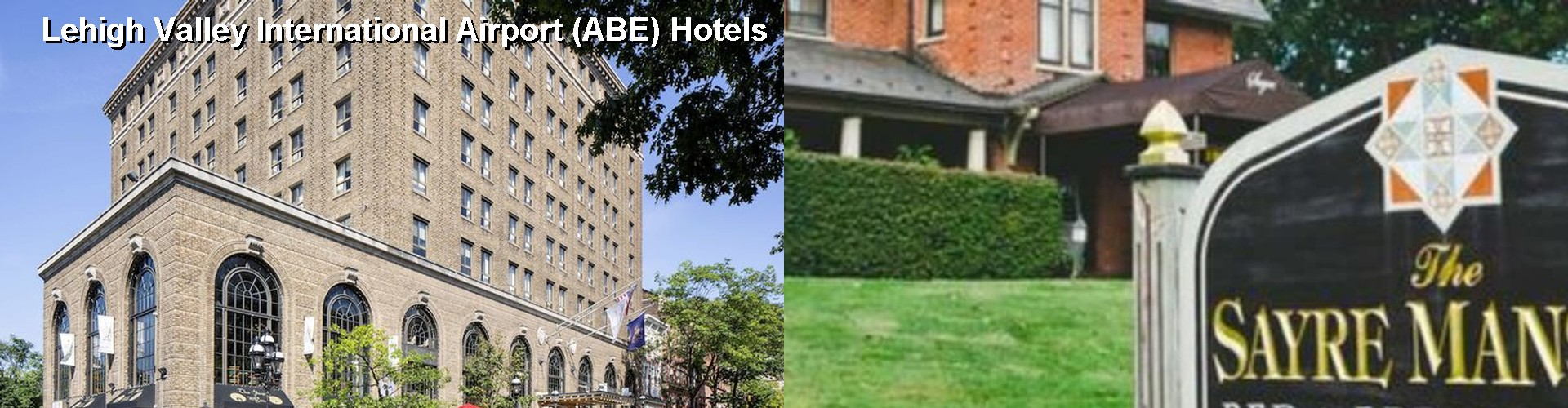 $48+ Hotels Near Lehigh Valley International Airport (ABE) in ...