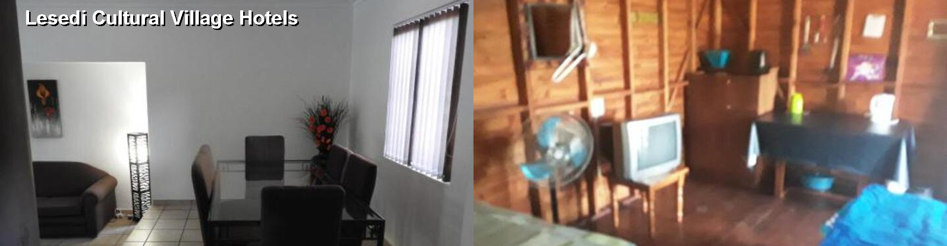 5 Best Hotels near Lesedi Cultural Village