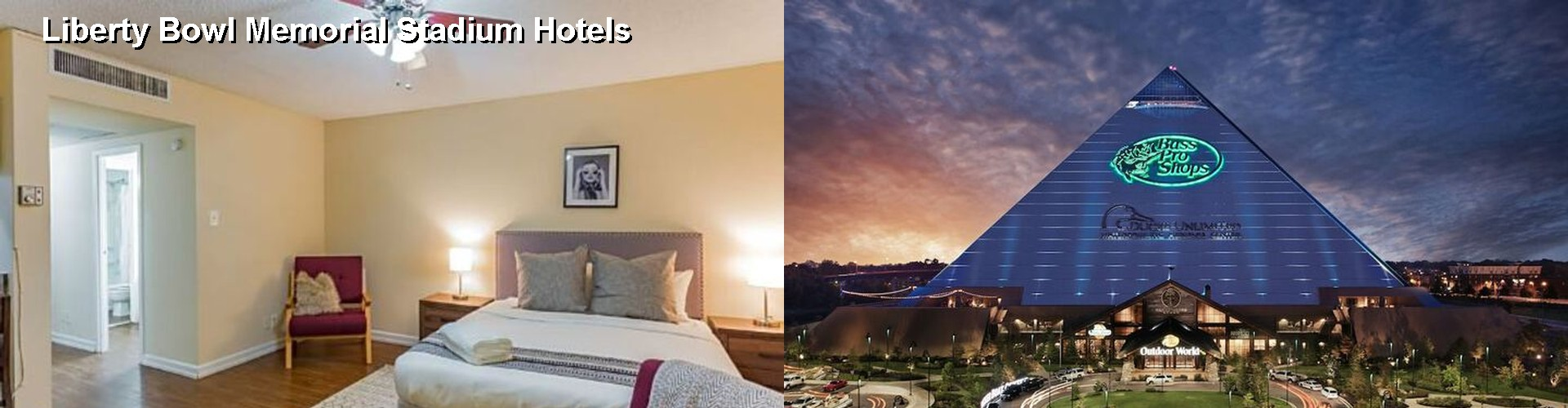 5 Best Hotels near Liberty Bowl Memorial Stadium