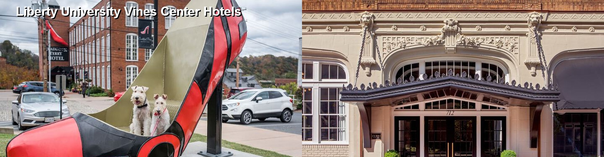 $50+ Hotels Near Liberty University Vines Center in Lynchburg VA