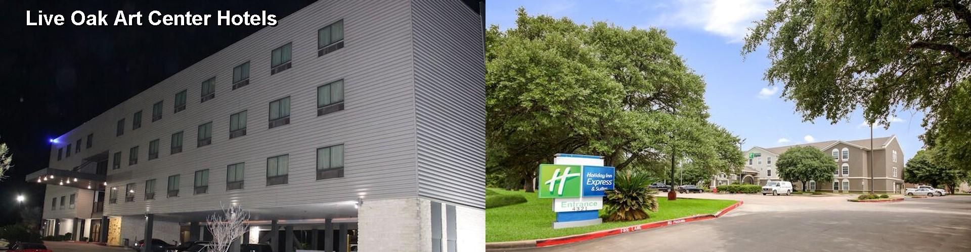 5 Best Hotels Near Live Oak Art Center