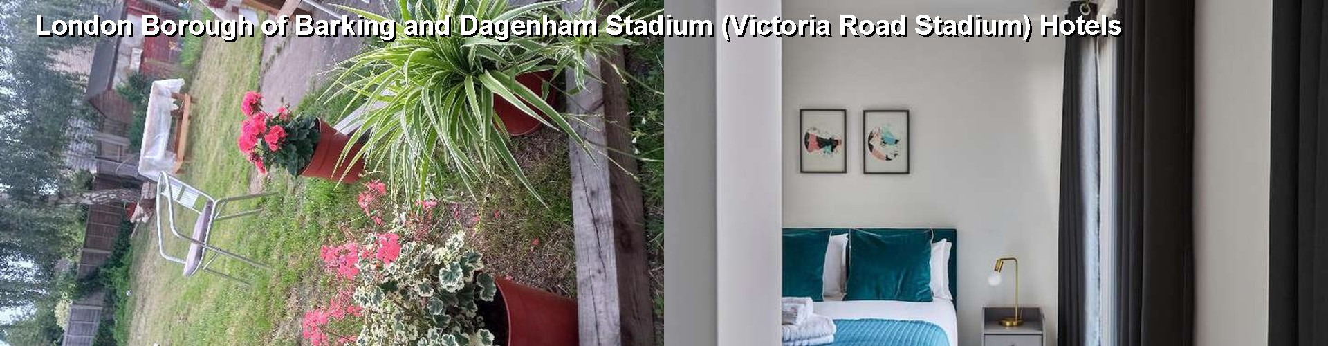 4 Best Hotels near London Borough of Barking and Dagenham Stadium (Victoria Road Stadium)