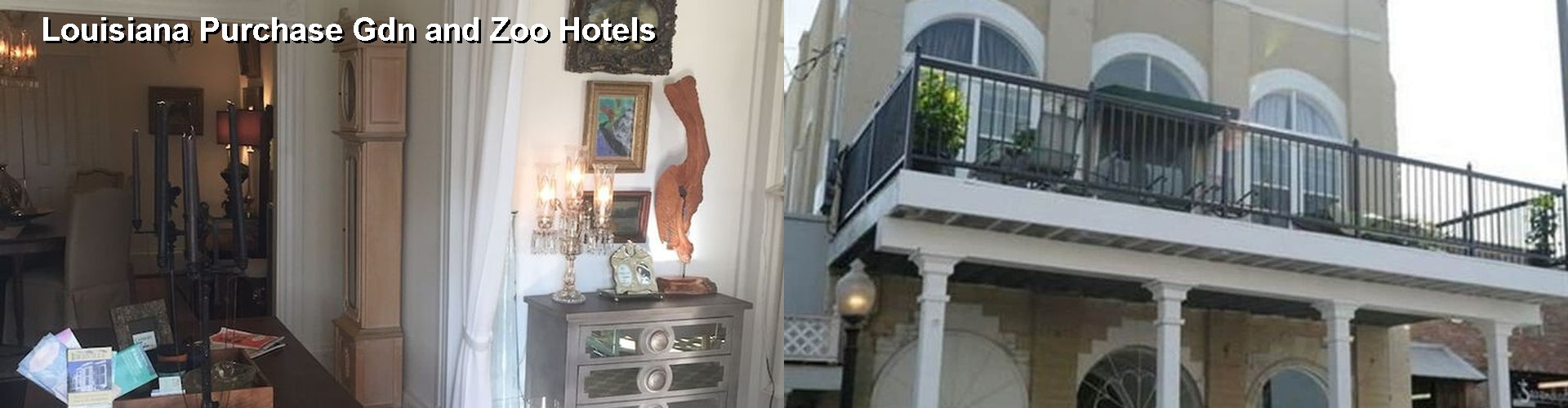 5 Best Hotels near Louisiana Purchase Gdn and Zoo