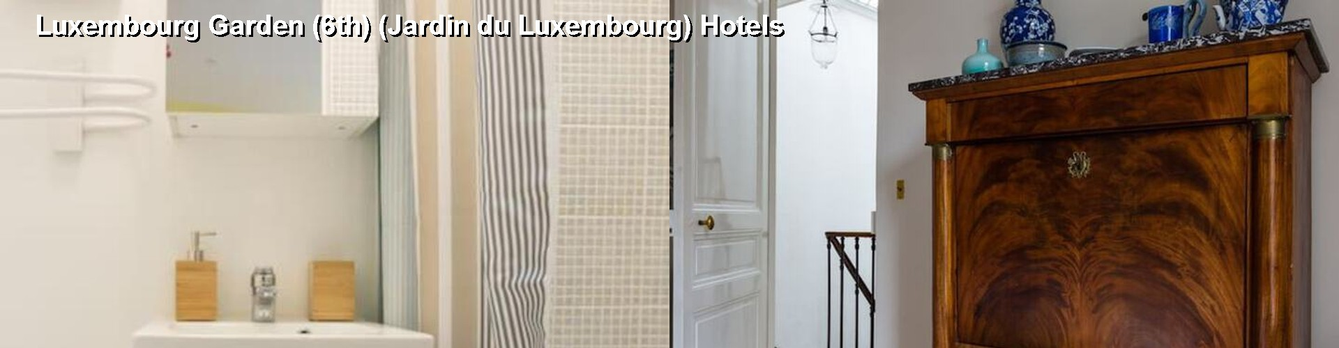 5 Best Hotels near Luxembourg Garden (6th) (Jardin du Luxembourg)
