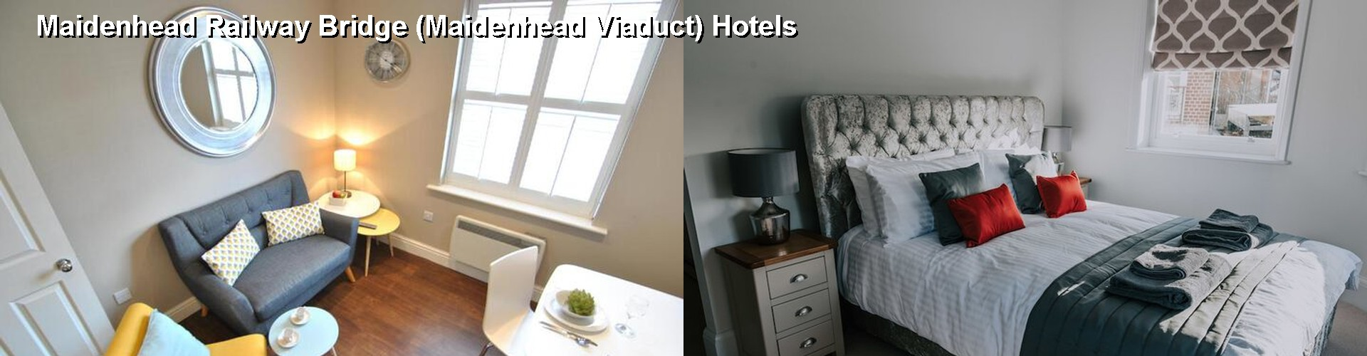 5 Best Hotels near Maidenhead Railway Bridge (Maidenhead Viaduct)