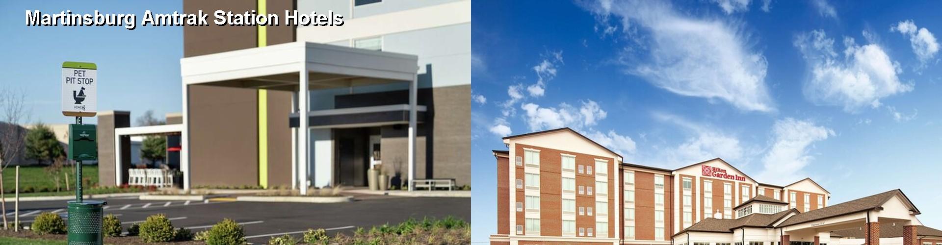 5 Best Hotels Near Martinsburg Amtrak Station