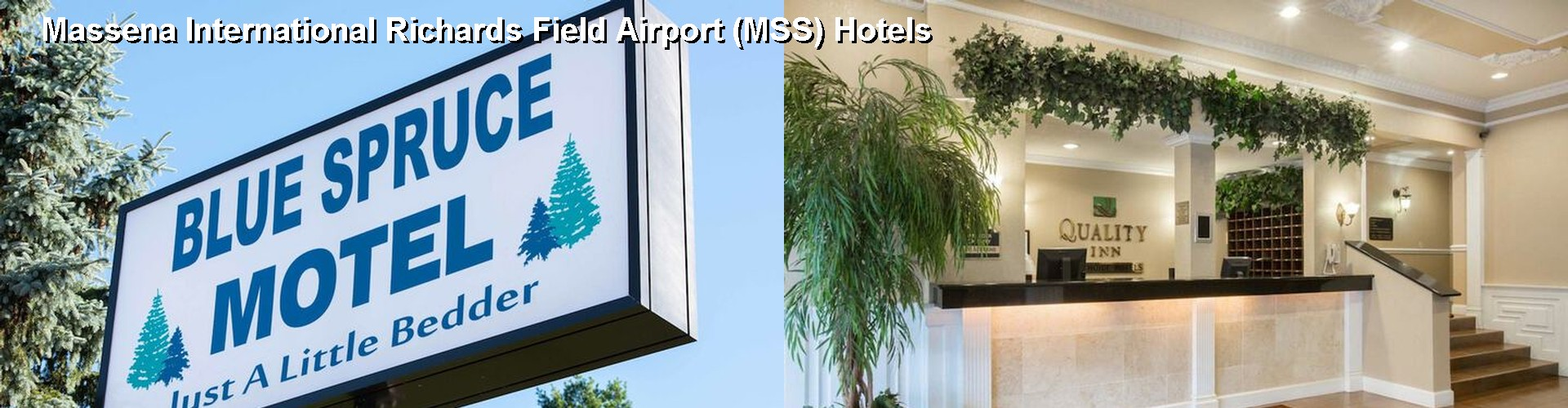 5 Best Hotels near Massena International Richards Field Airport (MSS)