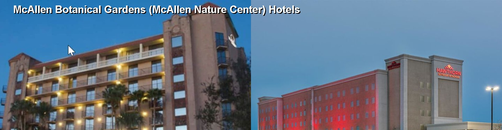 5 Best Hotels near McAllen Botanical Gardens (McAllen Nature Center)