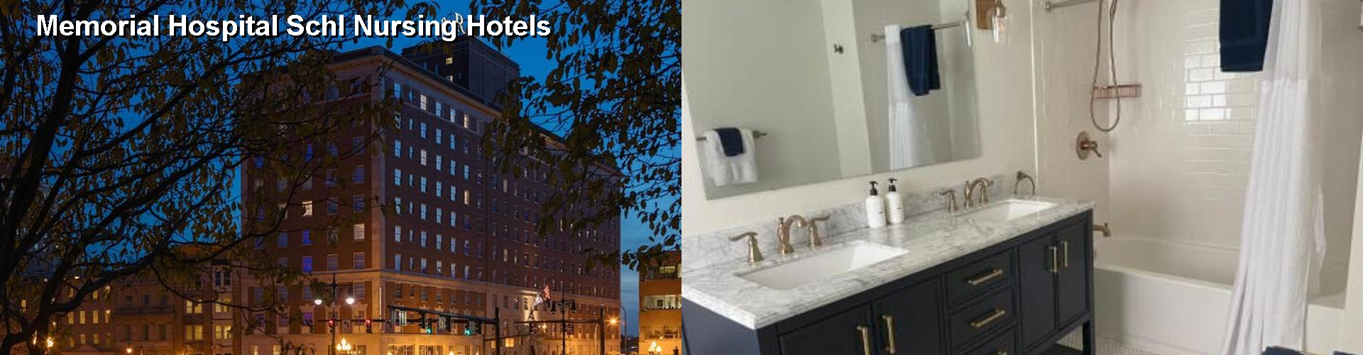 5 Best Hotels near Memorial Hospital Schl Nursing