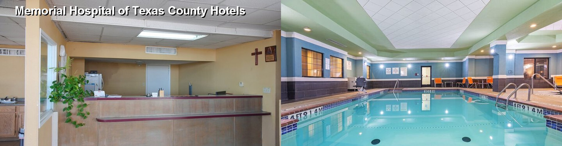4 Best Hotels near Memorial Hospital of Texas County