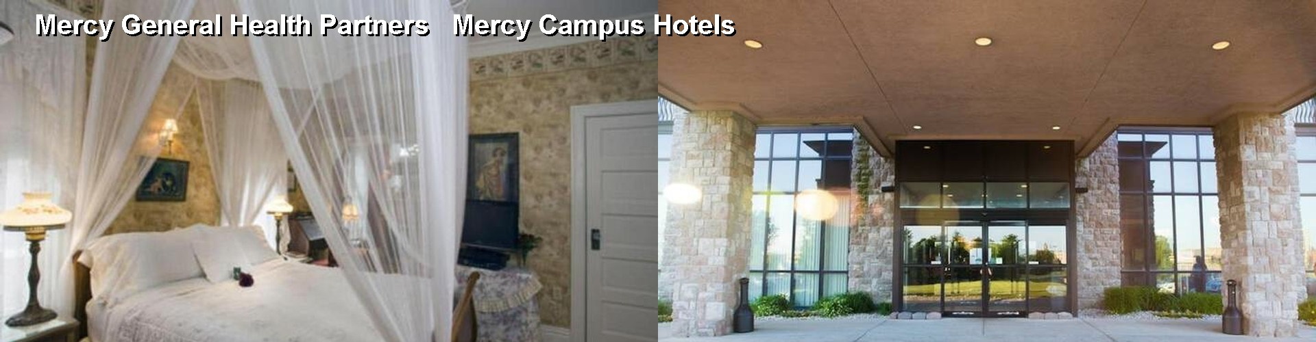 5 Best Hotels near Mercy General Health Partners Mercy Campus