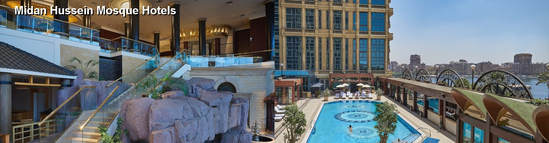 5 Best Hotels near Midan Hussein Mosque