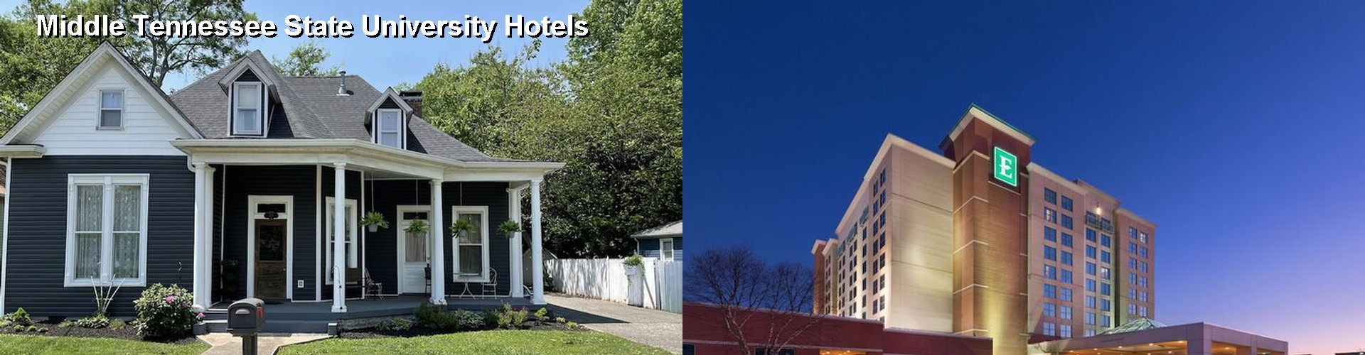 4 Best Hotels near Middle Tennessee State University