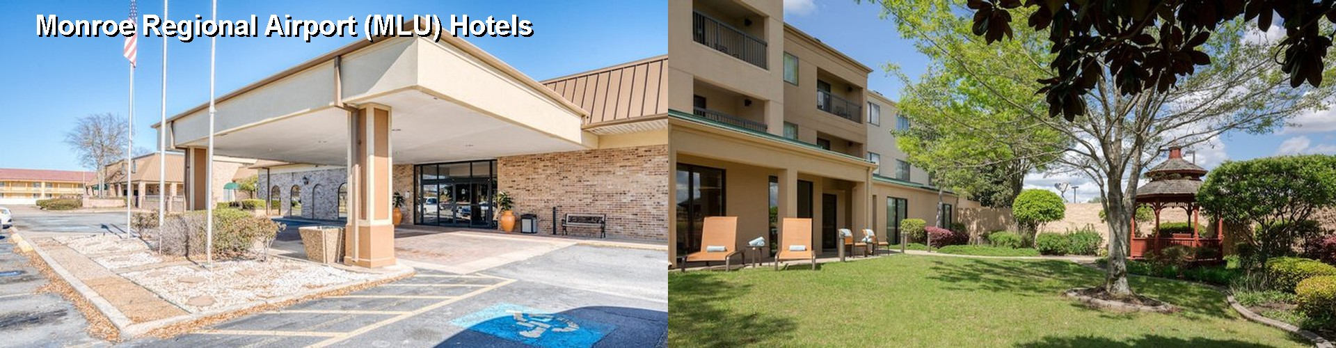 5 Best Hotels near Monroe Regional Airport (MLU)