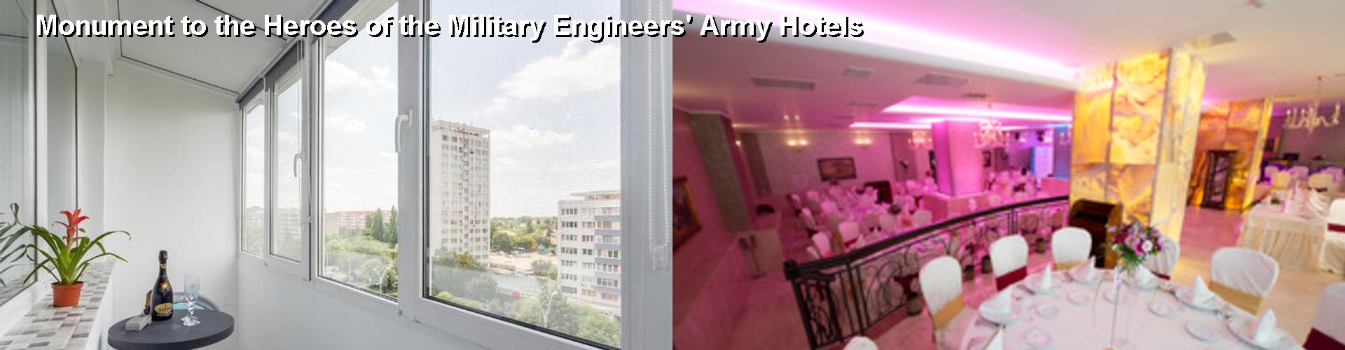 5 Best Hotels near Monument to the Heroes of the Military Engineers' Army