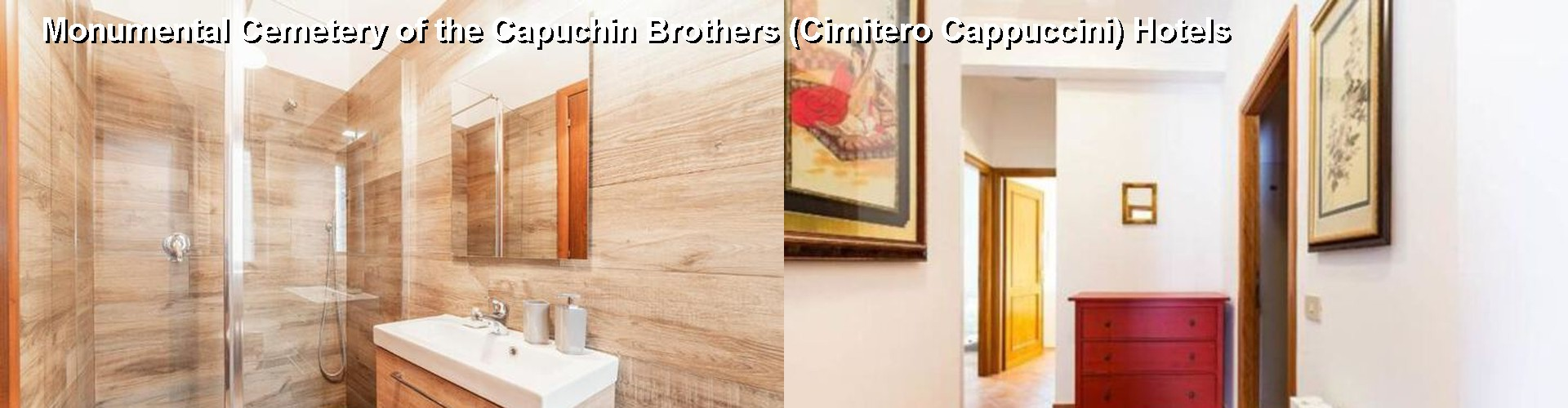 5 Best Hotels near Monumental Cemetery of the Capuchin Brothers (Cimitero Cappuccini)