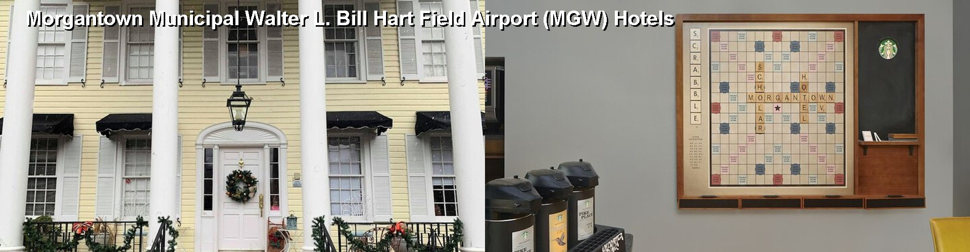 5 Best Hotels near Morgantown Municipal Walter L. Bill Hart Field Airport (MGW)