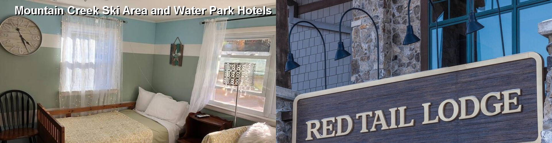 5 Best Hotels near Mountain Creek Ski Area and Water Park