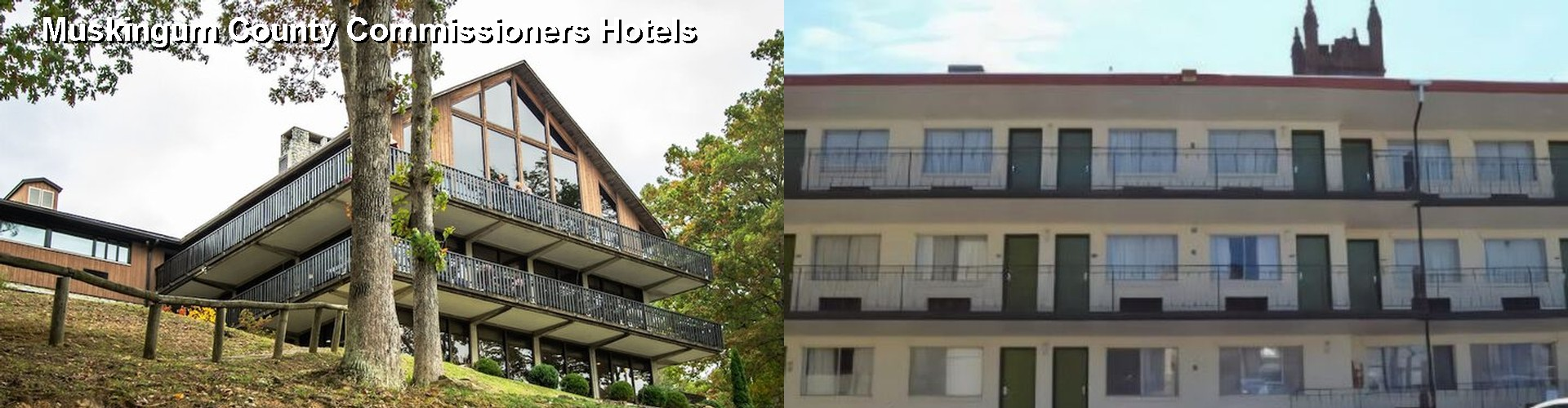5 Best Hotels near Muskingum County Commissioners