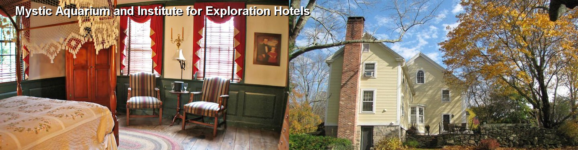 5 Best Hotels near Mystic Aquarium and Institute for Exploration