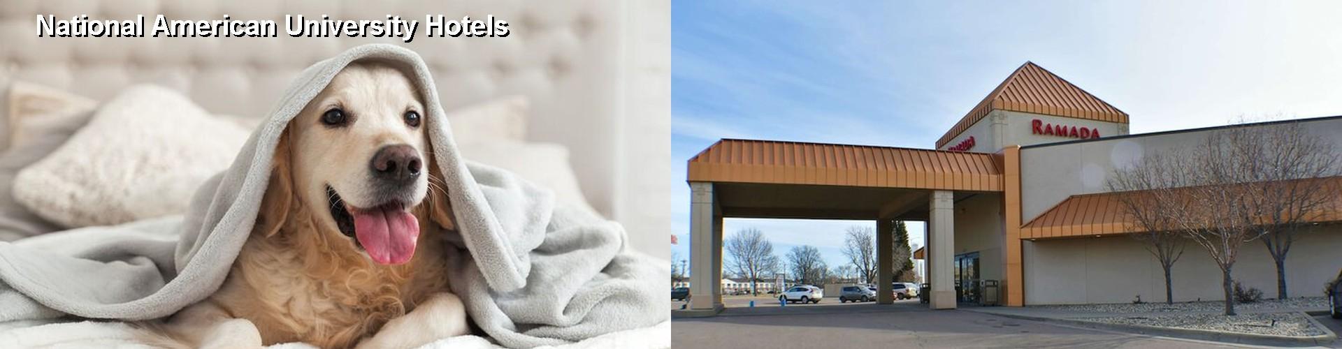 5 Best Hotels Near National American University