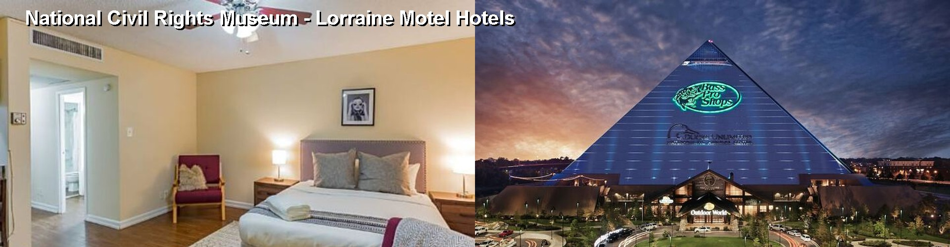 5 Best Hotels near National Civil Rights Museum - Lorraine Motel