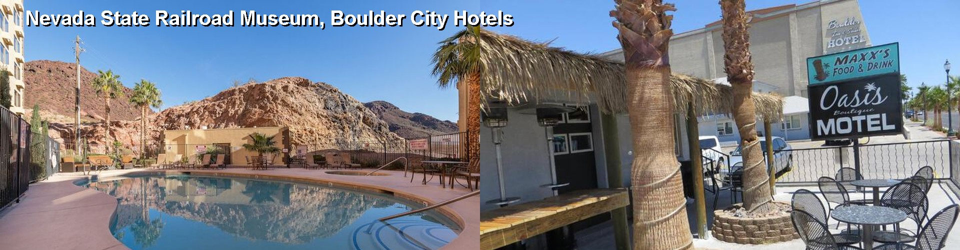 5 Best Hotels near Nevada State Railroad Museum, Boulder City