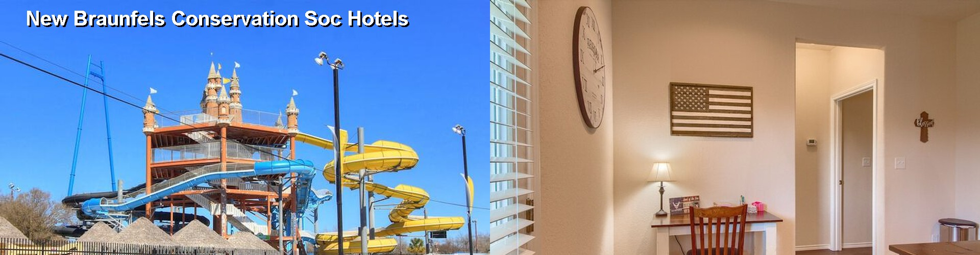 5 Best Hotels near New Braunfels Conservation Soc