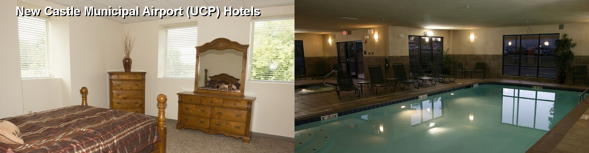 5 Best Hotels near New Castle Municipal Airport (UCP)