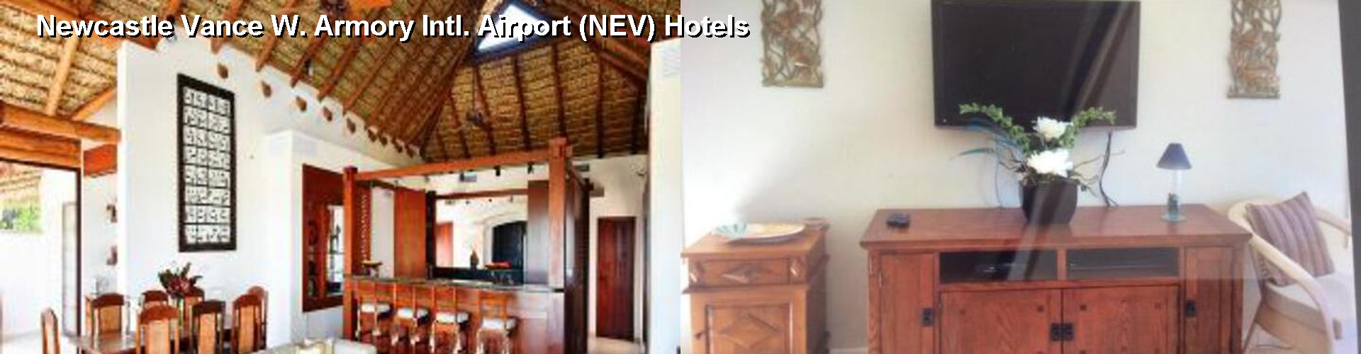 5 Best Hotels near Newcastle Vance W. Armory Intl. Airport (NEV)