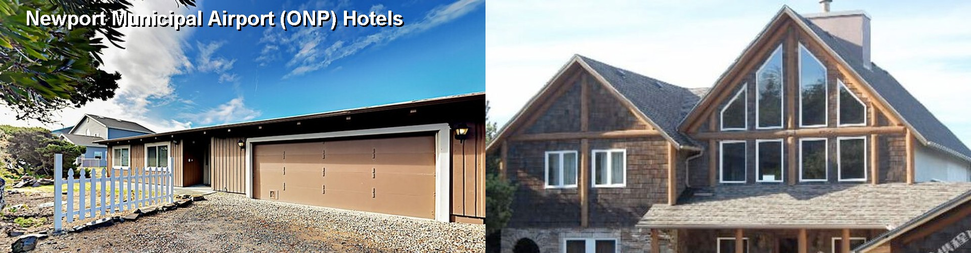5 Best Hotels near Newport Municipal Airport (ONP)