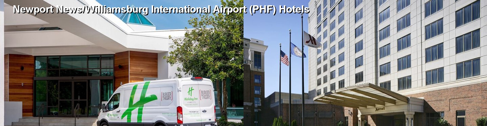5 Best Hotels near Newport News/Williamsburg International Airport (PHF)
