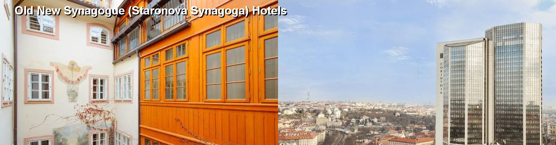 5 Best Hotels near Old New Synagogue (Staronova Synagoga)