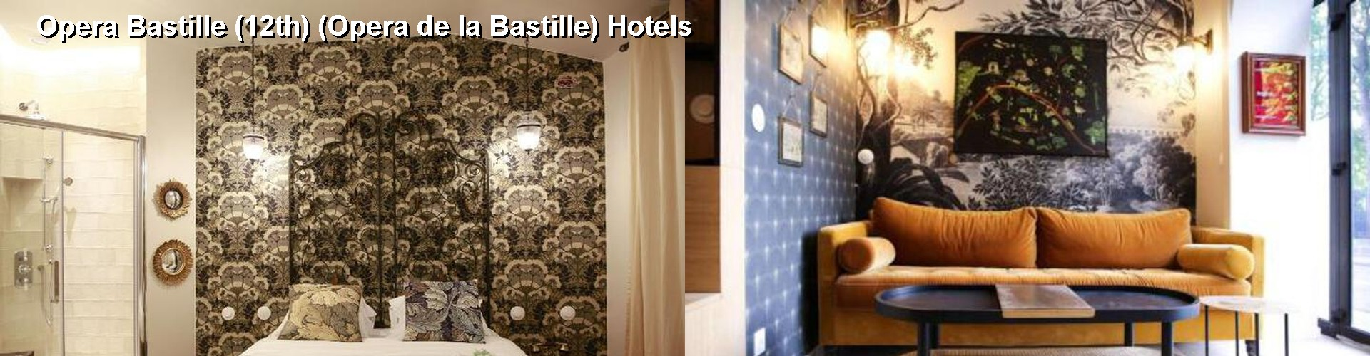 5 Best Hotels near Opera Bastille (12th) (Opera de la Bastille)