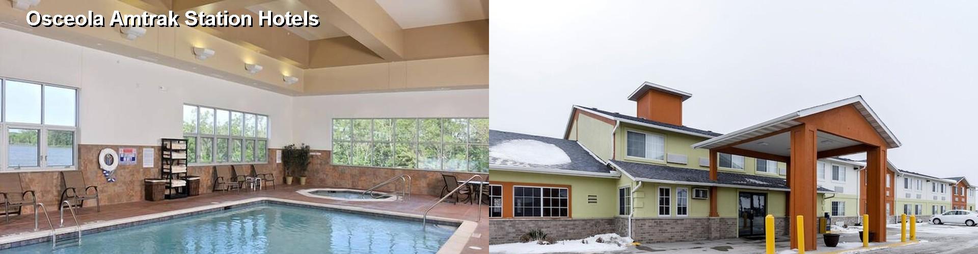 4 Best Hotels Near Osceola Amtrak Station
