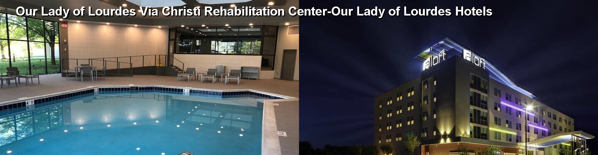 5 Best Hotels near Our Lady of Lourdes Via Christi Rehabilitation Center-Our Lady of Lourdes