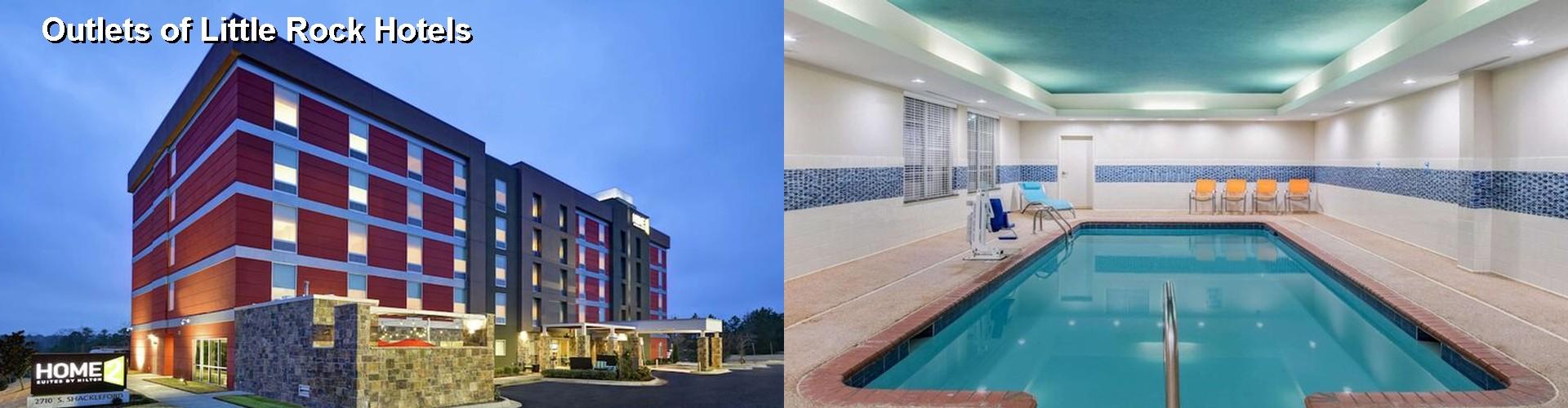 5 Best Hotels Near Outlets Of Little Rock