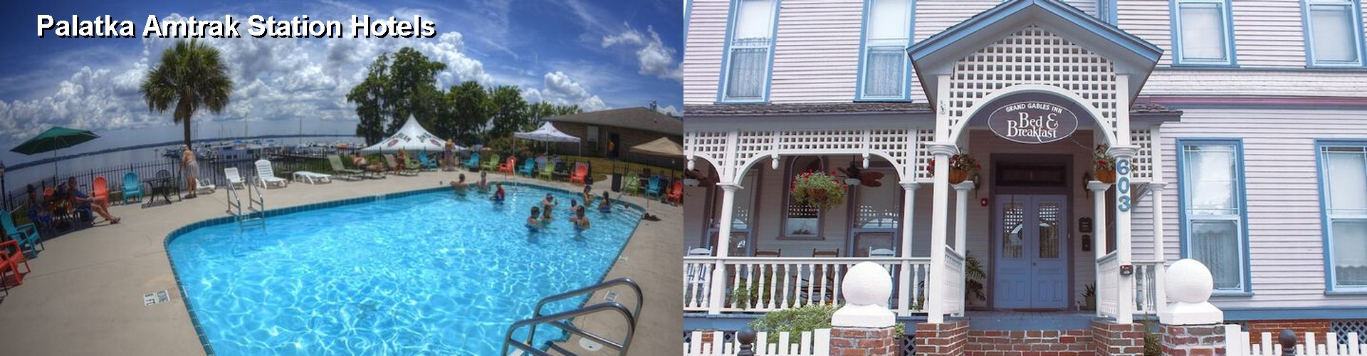 5 Best Hotels near Palatka Amtrak Station