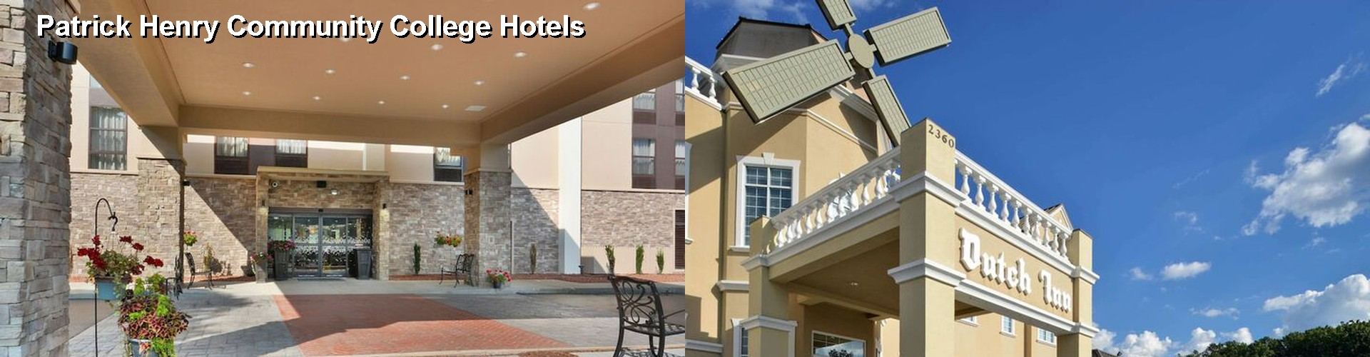 5 Best Hotels near Patrick Henry Community College