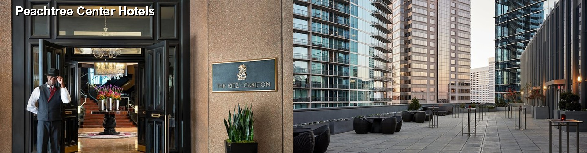 5 Best Hotels near Peachtree Center